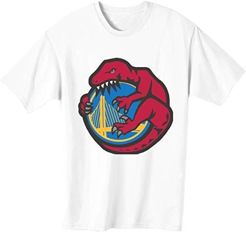Camiseta para hombre con diseño de dinosaurio Destroys City Basketball Champions Parody.