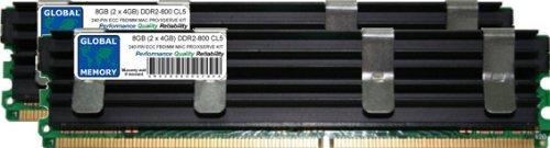 Kit de Memoria RAM DDR2 de 8 GB (2 x 4 GB,...