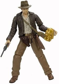 Indiana Jones Figure with Golden Idol 2003 Disney Theme Park Exclusive Raiders of the Lost Ark by Indiana Jones