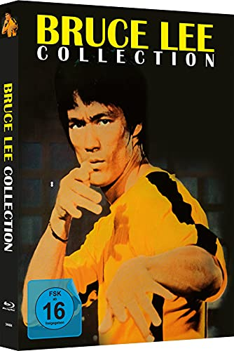 Bruce Lee - Die Collection - 4-Disc Mediabook - Cover C - Limited Edition auf 333 Stück [Blu-ray]