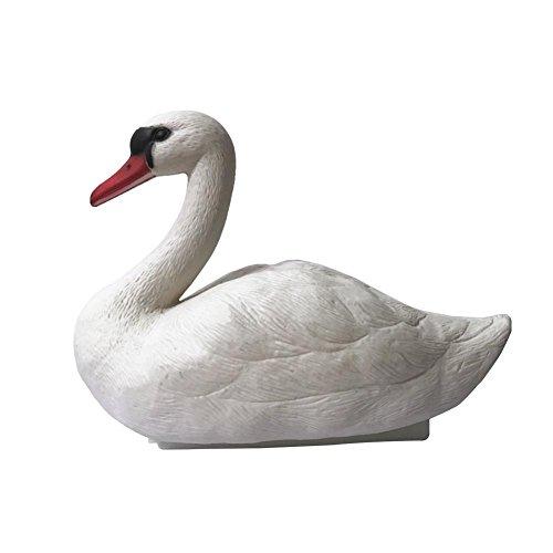 Envisioni Hof, Garten, Teich, Garten Set Dekoration White Swan Bird Ornament