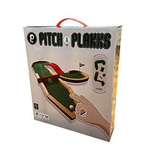 Pitch&PLAKKS | Juego de Mesa de Mini Golf