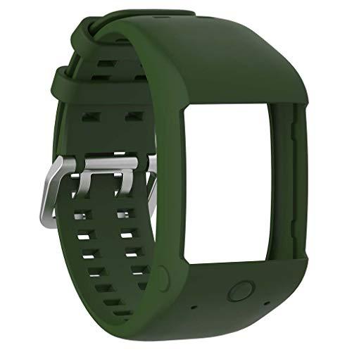 Correa de silicona para reloj Polar M600 GPS.
