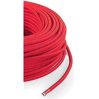 4.5m m/ètres 4mm 3-7 gaine tress/ée rouge thermor/étractable manchon de c/âble fil /électrique C14222 Aerzetix