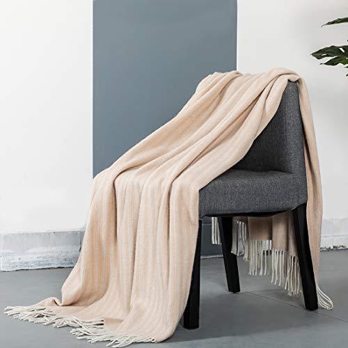 spencer & whitney Bed Blanket Throws Wool Blanket Alpaca Wool Throw Pale...