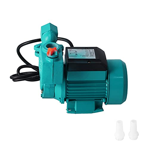 Self‑Priming Pump High Pressure Self Priming Pump Sucking Electric Transfer Submersible Pumps Low Noise Electric Drill Pump for Car Washing Boat Cleaning and Garden Watering