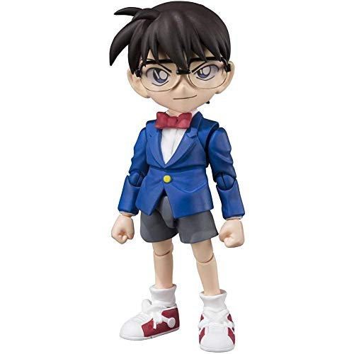 MXUS Action Figure Anime Detective Conan Edogawa Konan, Materiale PVC 9Cm Giocattolo Handmade, Adatto per Fare Il Regalo di Compleanno di Un Bambino