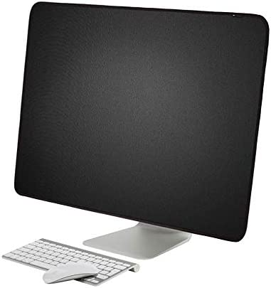 WESAPPINC Monitor Dust Cover, Non-Woven Antistatic PC Computer Monitor Case Screen Display Protector LED/LCD/HD Panel Compatible with iMac for 21'' 27'' (21.5inch, Style 1)