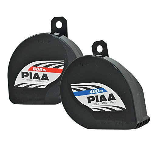 Piaa 85114 Slim Line 400Hz + 500Hz 112db Sports Horn Kit ,...
