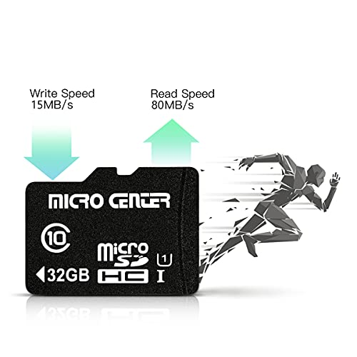 32GB Class 10 Micro SDHC Flash Memory Card with Adapter