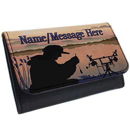 Personalised Carp Fishing Tobacco Pouch