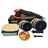 Canfix Dual Action Orbital Car Polisher with 5' and 6' Pads