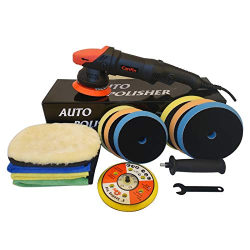 Canfix Dual Action Orbital Car Polisher with 5
