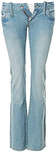OUTFITTERS NATION Damen Skinny Jeans Hose Bootcut W25 L32
