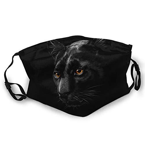 N/B Gesichtsmaske, atmungsaktiv, Bandana, Mundschutz, 3D-Druck, Mundmaske für Sport und Outdoor-Aktivitäten gelb schwarz 2 Einheitsgröße