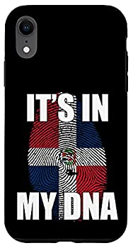 iPhone XR It s In My DNA Dominican Flag Case