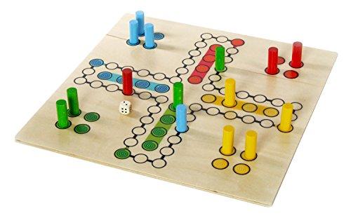 Hess Holzspielzeug 14848 - Brettspiel aus Holz, Raus mit Dir, 30 x 30 cm