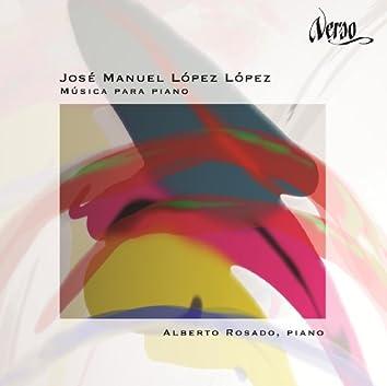 José Manuel López López: Música para piano
