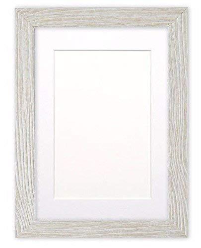 Paintings Frames Platte fotolijst/Picture Frame/Poster Frame, met op maat gemaakte houder, drijfhout look, met zeer helder breukvast plexiglas, 30 mm breed en 16 mm diep