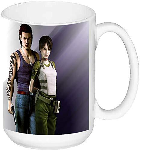MasTazas Resident Evil The Umbrella Chronicles Taza Grande Ceramica 15 oz ≈ 443 ml