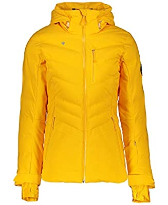 Obermeyer Womens Cosima Down Jacket, Go for Gold, 12