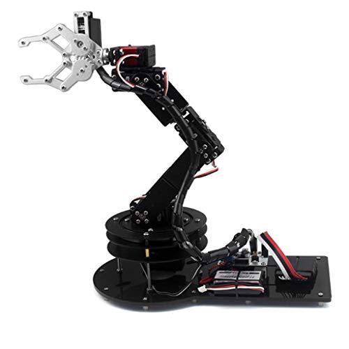 TMIL 6 DOF Aluminium RC Robotic Hand/Arm-Roboter, Greifer Stock, APP-Steuerung Programmierbare Educational Kit