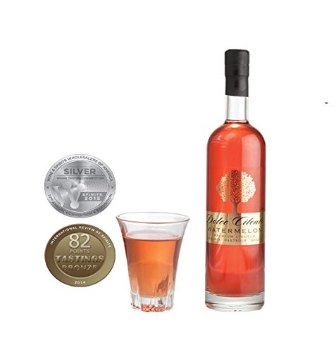 Licor de Sandía - Dolce Cilento Watermeloncello (2 Medallas) (100ml)