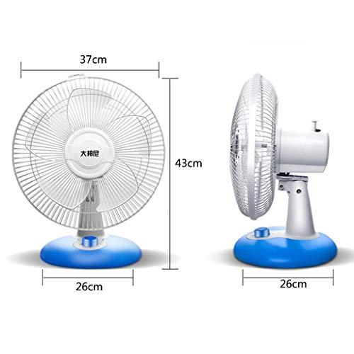 Multi-Scenario Verticale ventilatie van de klok voor elektrisch kantoor 1 uur/16 inch/5 blaadjes/mechanische bediening van de windsnelheid met drie snelheden.