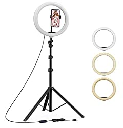 YOZTI 7 Feet Long Tripod Stand (84 Inch) with 10