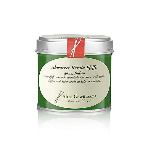 Altes Gewürzamt Kerala Pfeffer ganz, Indien 70 g - Ingo Holland