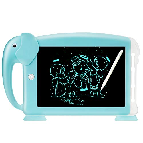 LCD Writing Tablet 10.5', Electronic Doodle Pads Writing Board, Doodle Board Drawing Board, Erasable Reusable Writing Pad Educational Writing Board, Gifts for Kids and Adults at Home, School & Office
