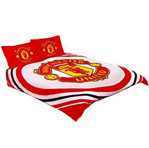 Manchester United F.C. 'Pulse' Reversible Double Duvet Quilt Cover Set