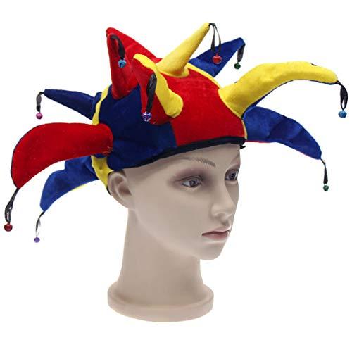 XuHangFF - Sombrero de payaso divertido para Halloween