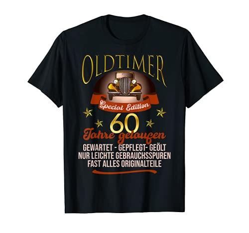 60. Geburtstag Oldtimer Jahrgang 1961 Spruch Geschenk T-Shirt