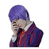 Anime Adultos Postizos Pelucas para Tokyo Ghoul Shuu Tsukiyama, Halloween...