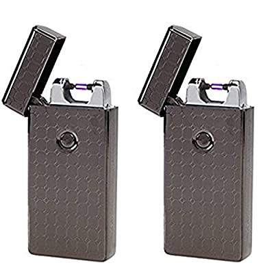 Saberlight 2 Pack - Rechargeable Flameless Plasma Beam Lighter - Electric Lighter