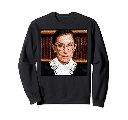 RUTH BADER GINSBURG RBG icono feminista Supreme Court Meme Sudadera