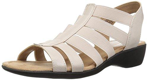 LifeStride Women's Toni Flat Sandal, Blush, 10 W US