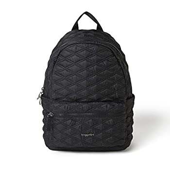 Baggallini Women s Quilted Backpack Black One Size