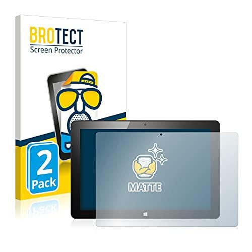 BROTECT 2X Entspiegelungs-Schutzfolie kompatibel mit CSL Panther Tab 10 Bildschirmschutz-Folie Matt, Anti-Reflex, Anti-Fingerprint