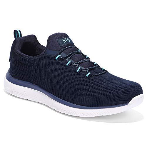 HKR Trainers Womens Arch Support Ladies Running Shoes Comfortable Slip On...