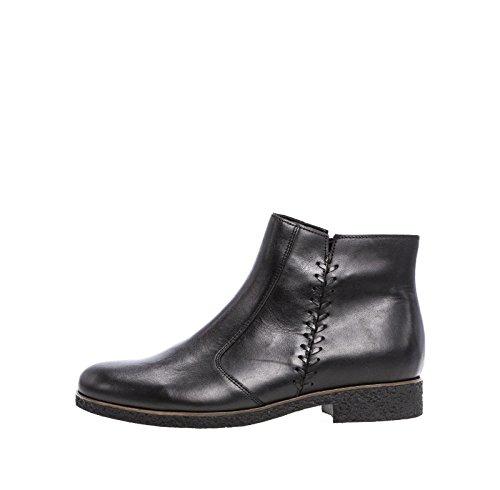 Gabor Damen Stiefelette schwarz Leder Größe 37 bis 40,5, Damen Größen:38.5;Farben:schwarz