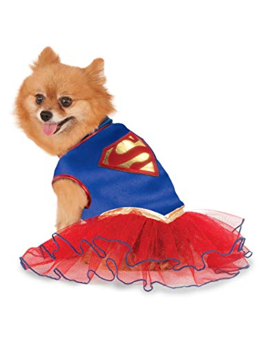 DC Comics Super Girl Pet Tutu Dress, Small