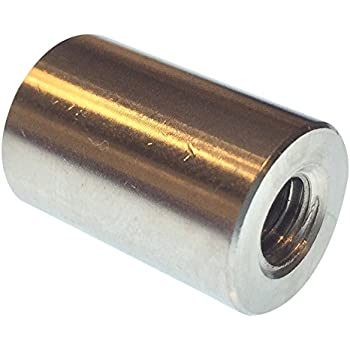 Female 0.25 OD Hex Standoff Stainless Steel 2.75 Length, Pack of 5 #4-40 Screw Size