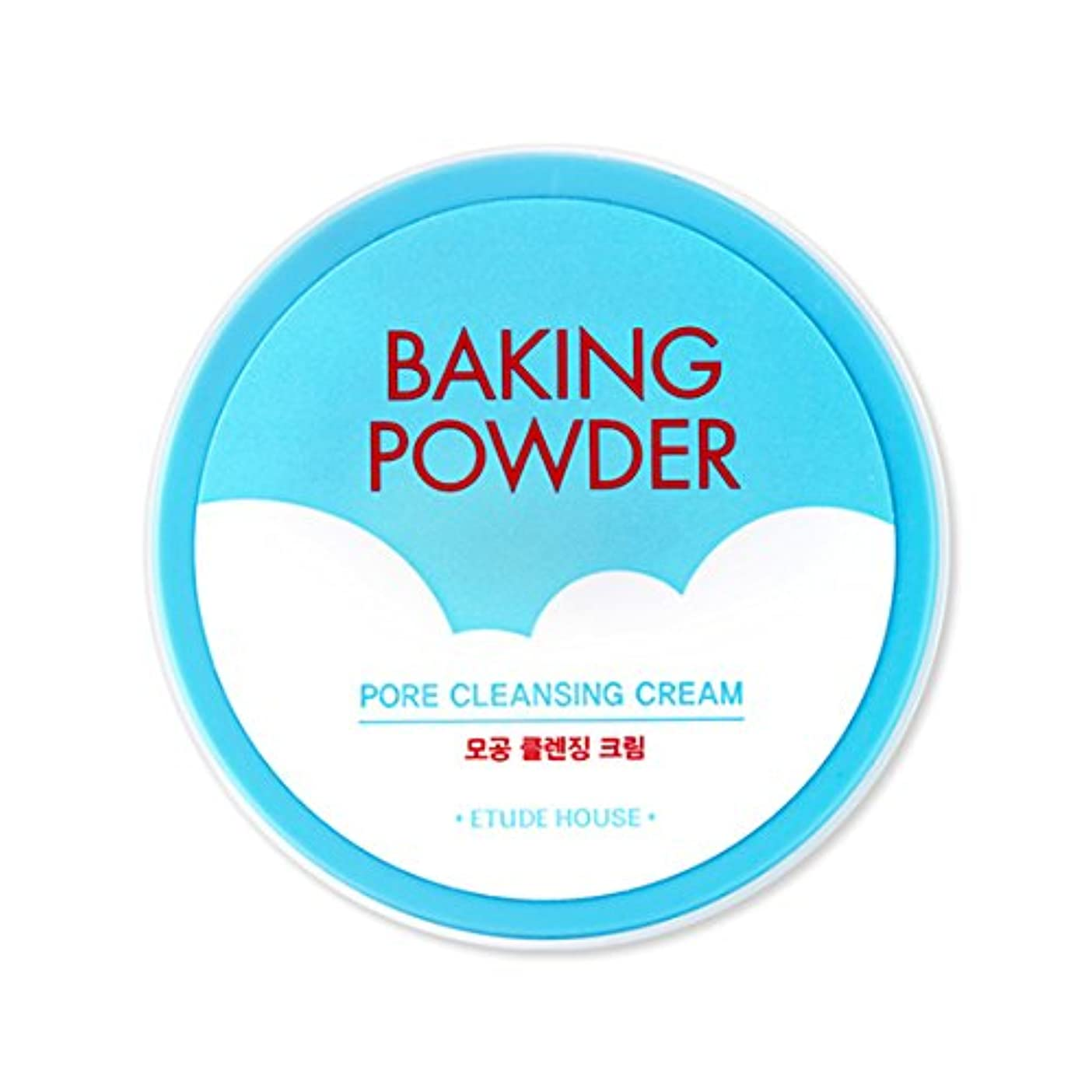送金外交喜んで[2016 Upgrade!] ETUDE HOUSE Baking Powder Pore Cleansing Cream 180ml/エチュードハウス ベーキング パウダー ポア クレンジング クリーム 180ml [並行輸入品]