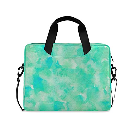 Laptop Shoulder Bag Lovely Abstract Art Watercolor Pattern 15.6 16 15 Inch Laptop Carrying Case Protective Sleeve Briefcase Messenger Bags for Women Men Travel