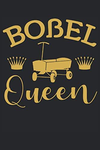 Boßel Queen - Boßeln Königin Damen Geschenk Notizbuch (Taschenbuch DIN A 5 Format Liniert): Boßeln Geschenkidee Notizbuch, Notizheft, Schreibheft, ... Frauen und Mädchen die dieses Spiel lieben.