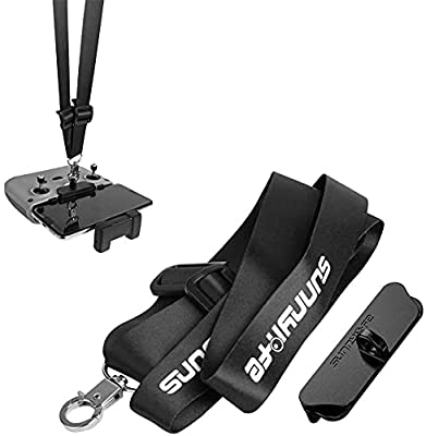 Linghuang Mavic Air 2 Transmitter Lanyard buckle bracket+Neck Hanging Belt Strap for DJI Mini 2 Mavic Air 2 Drone Remote Control Accessories