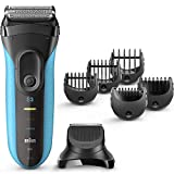 Braun Electric Razor for Men, Series 3 3010Bt Electric Shaver & Beard Trimmer, Rechargeable, Wet & Dry Foil...