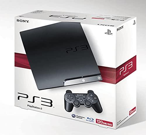 NGW Playstation 3 Ps3 Console Slim 120 Gb con Joypad e 4 Giochi Originali - Cavetteria Completa - Usato Ricondizionato con 1 Anno di Garanzia
